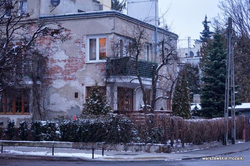 Warszawa Stare Bielany Zdobycz Robotnicza ulice Bielan willa dworek