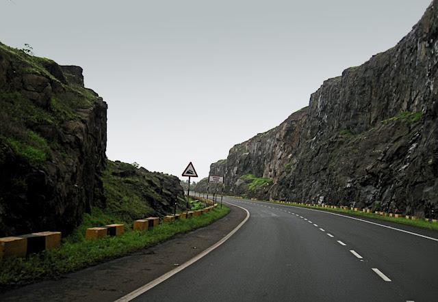 kasara ghat road to Nashik