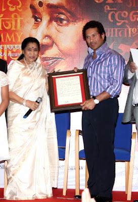 Sachin Tendulkar @ Audio release of 'Mai'