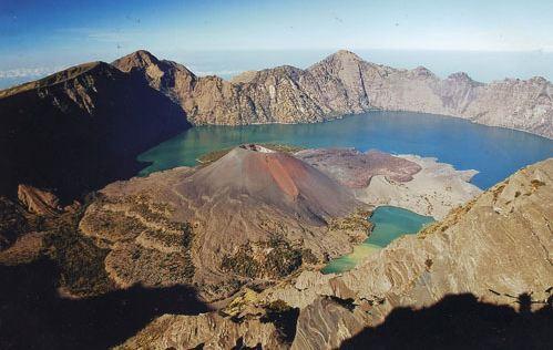 Pesona Gunung Rinjani dan Danau Segara Anak | Berita-NTB