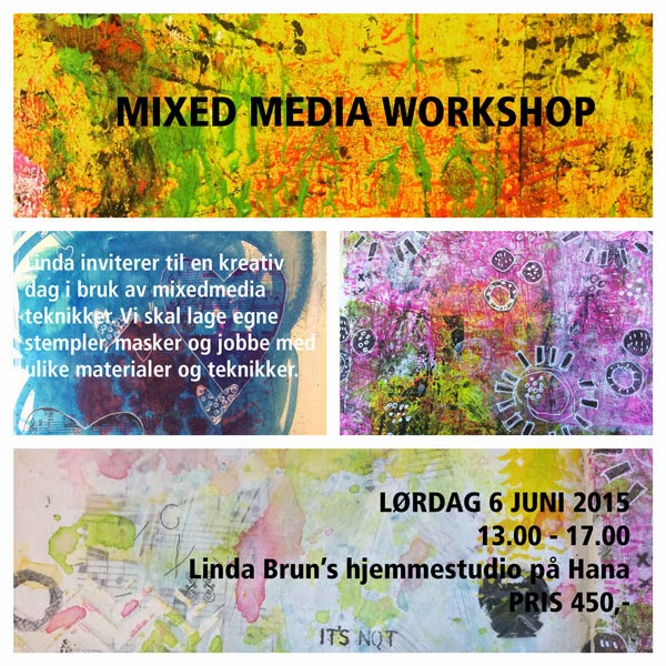 New Mixed Media class