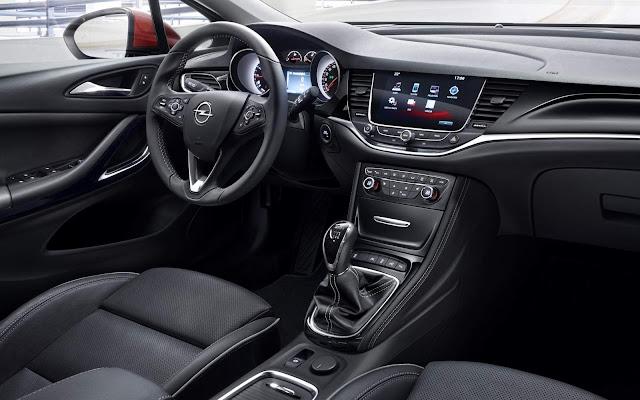 Novo Opel Astra 2016 - interior