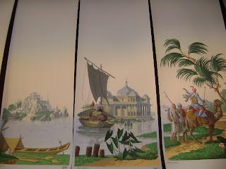 antiquaire marine peintres de marine papier peint panoramique decors maritime. Black Bedroom Furniture Sets. Home Design Ideas