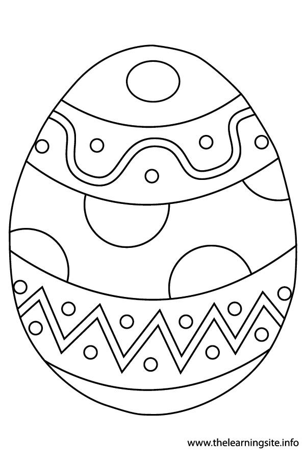 Uova Coniglietti Pulcini E Altri Disegni Di Pasqua Da Colorare
