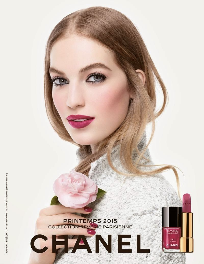The latest Chanel makeup collection, Reverie Parisienne, is a Paris inspired spring collection that has been defined by these two different looks.