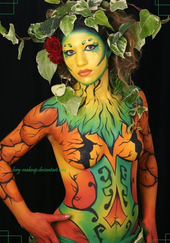 Full Body Painting Makeup