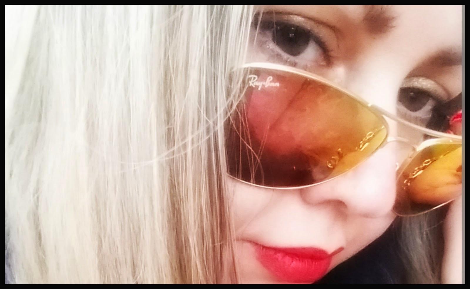 occhiali da sole sunglassesshop modello ray-ban