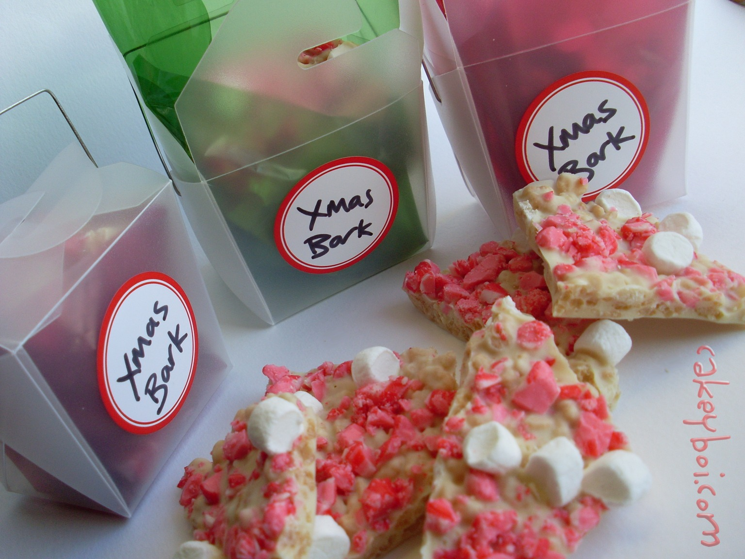 Peppermint and White Chocolate Bark