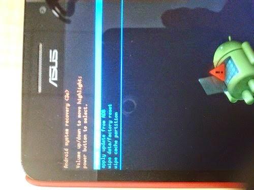 Cara Flash Handphone Android Asus Zenfone 4 Dengan Mudah