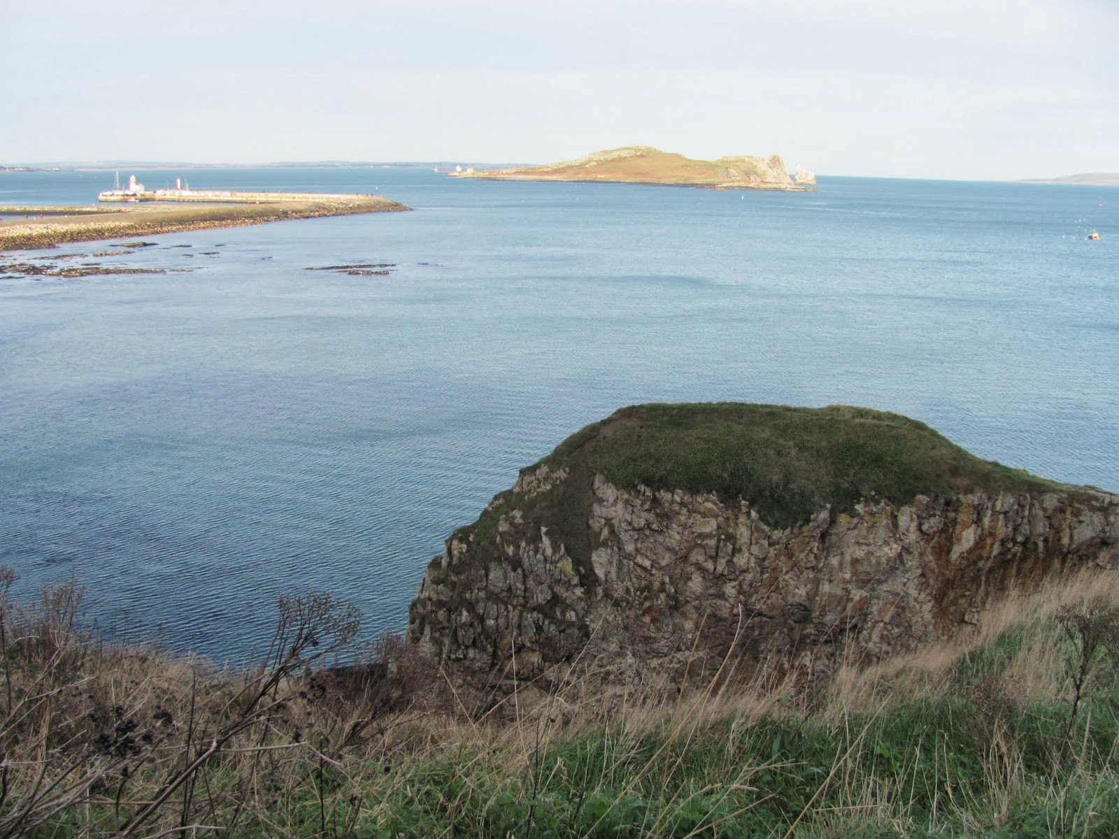Ireland's Eye Island seen from Howth