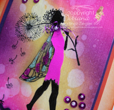 lavinia bright colors distress inks make a wish stamp wings