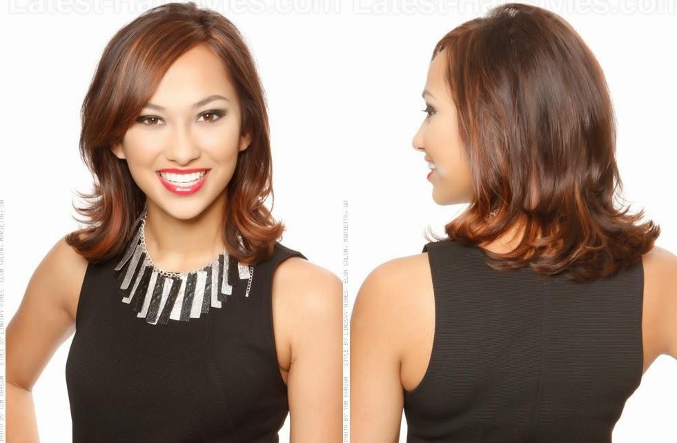 Corte de cabelo feminino de acordo com o tipo de rosto