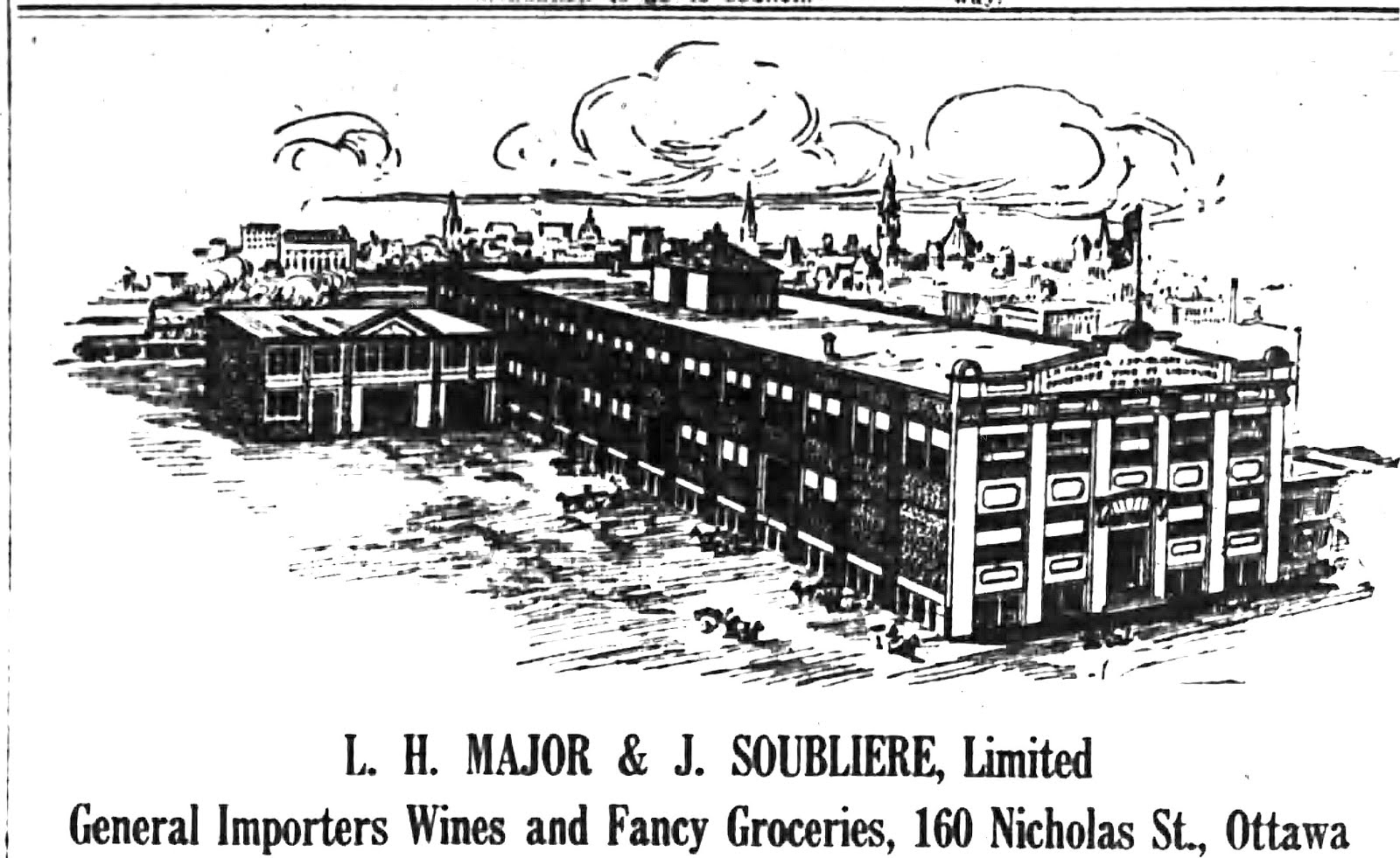 THE L.H. MAJOR & J. SOUBLIERE, & LAPORTE-MARTIN, & LCBO NICHOLAS ...