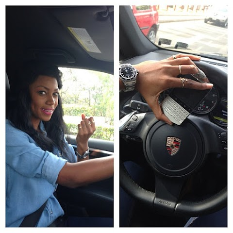 Yvonne Nelson ! Its official am Half Nigerian .