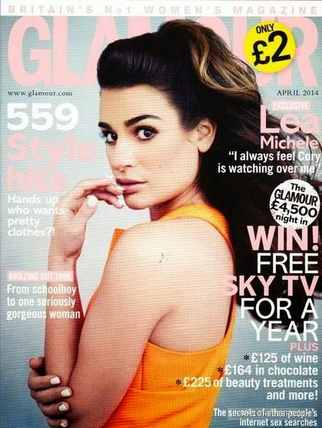 Lea Michele HQ Pictures Glamour UK Magazine Photoshoot April 2014