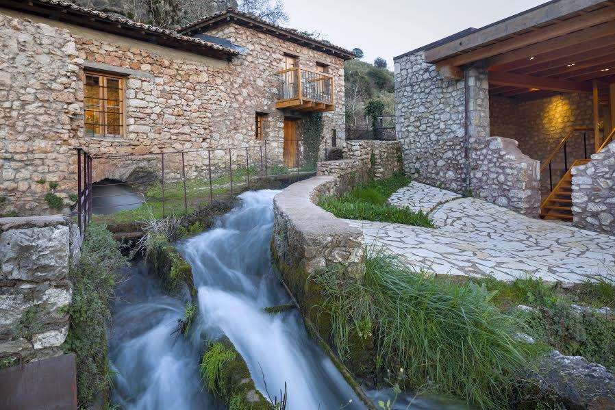 To Υπαίθριο Μουσείο Υδροκίνησης στη Δημητσάνα,