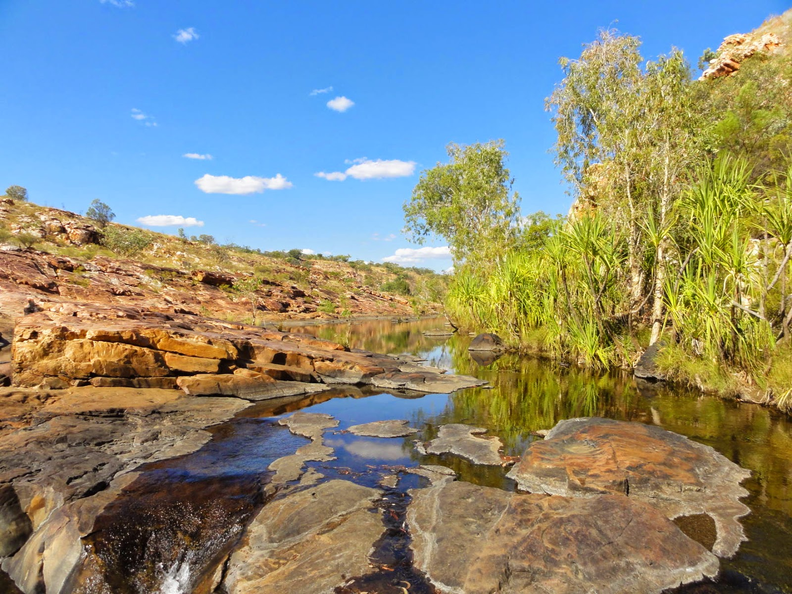 A k travels gibb river road kimberley Belle creek