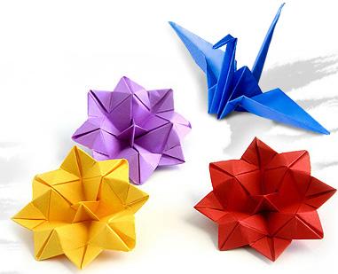 Origami adalah seni melipat kertas yang berasal dari nagara Jepang