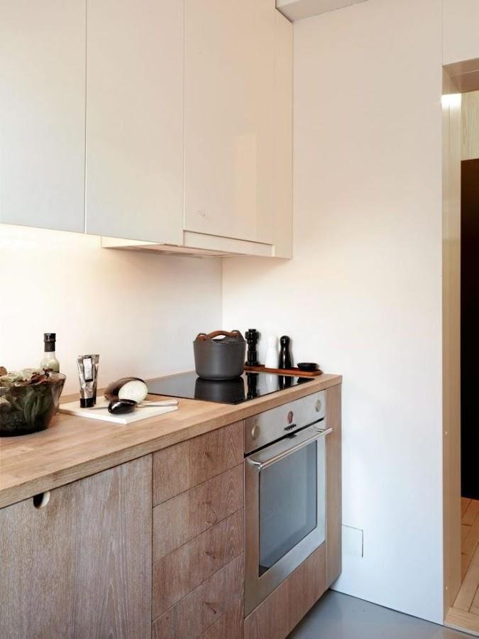 5 ideas para una cocina n rdica decoraci n for Cocinas de madera blanca