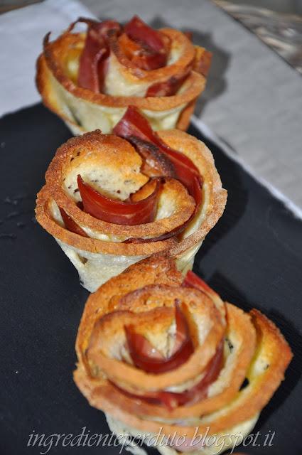 rose di pane di matera e speck per #mangiarematera