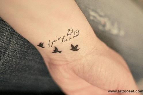 10 diseños de tatuajes de pájaros para mujeres ~ Fotos de Tatuajes