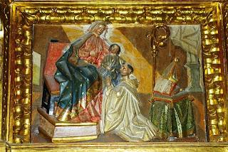 monasterio de Corias, retablo mayor, detalle