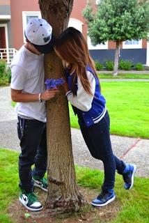 boy and girl in love - crush love shayari