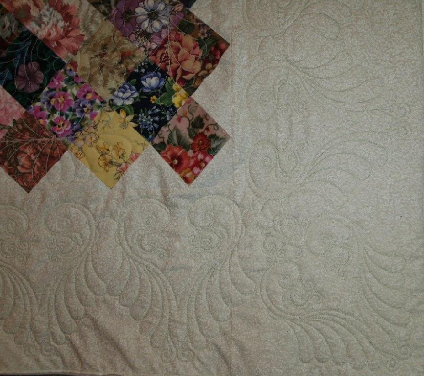 Cheryl Vastola's Floral Squares Quilt