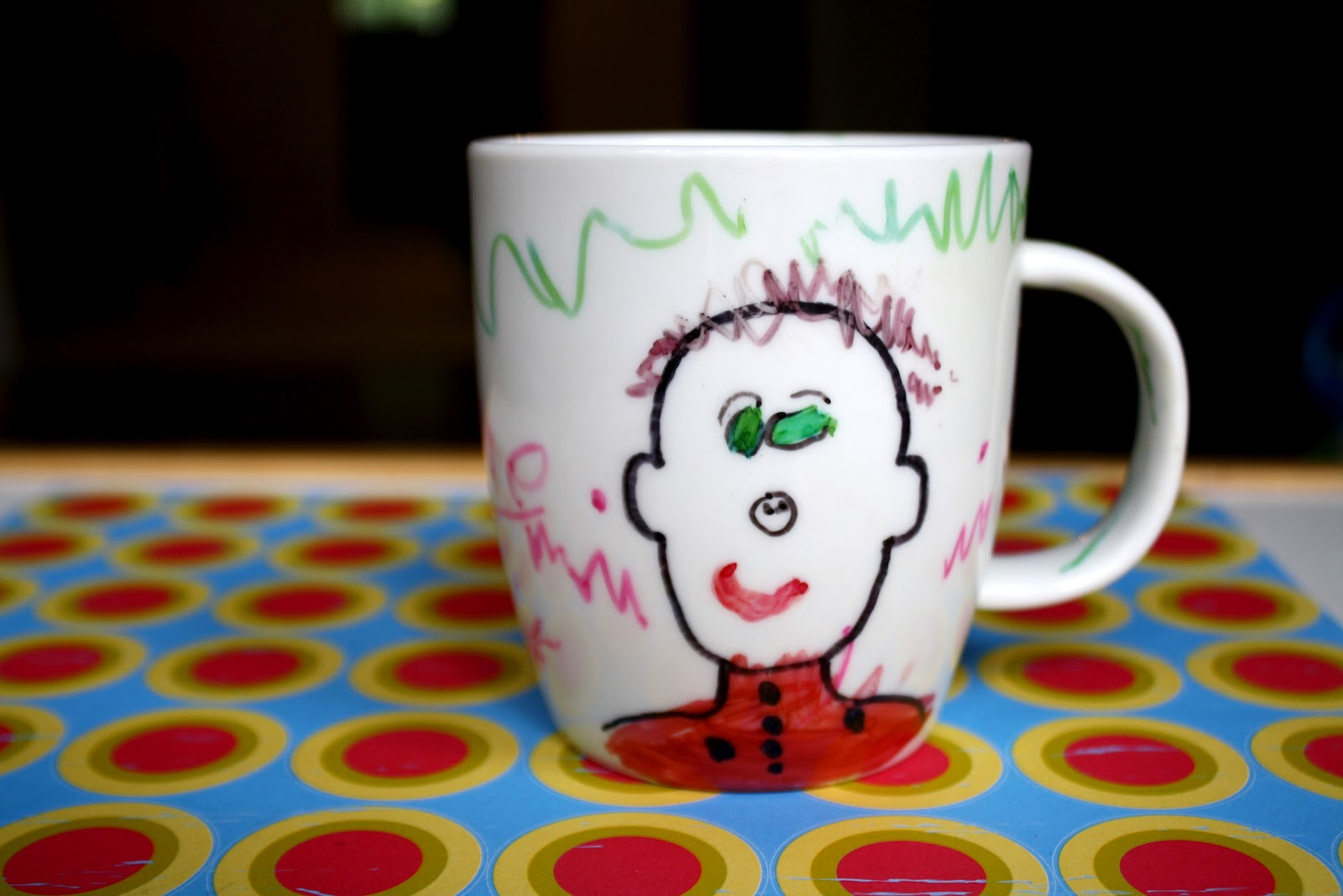 Daddy Mug That Kids Can Decorate
