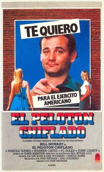 El Pelotón Chiflado (1981)