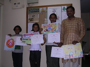 Prize winners of Drawing Competition 2006