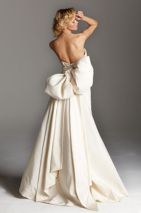 blog of wedding and occasion wear backless wedding