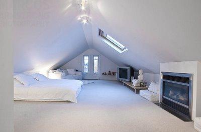 Neo arquitecturaymas dormir en una buhardilla en blanco for Diseno de buhardillas