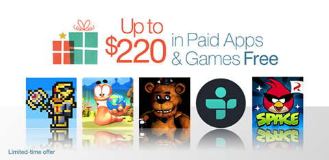 $220 worth of 40 PAID Android Apps and Games FREE from Amazon Appstore