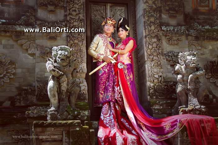 Balinese Pre wedding in Bali Museum
