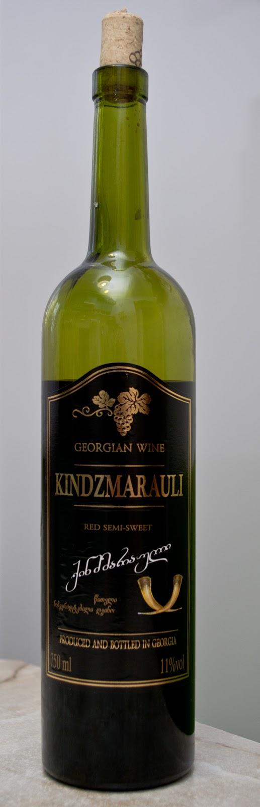 gruzińskie wino czerwone półsłodkie