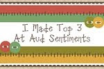 Top 3 at Aud Sentiments Challenge #25