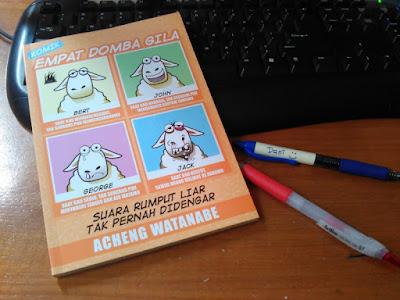 Komik Empat Domba Gila