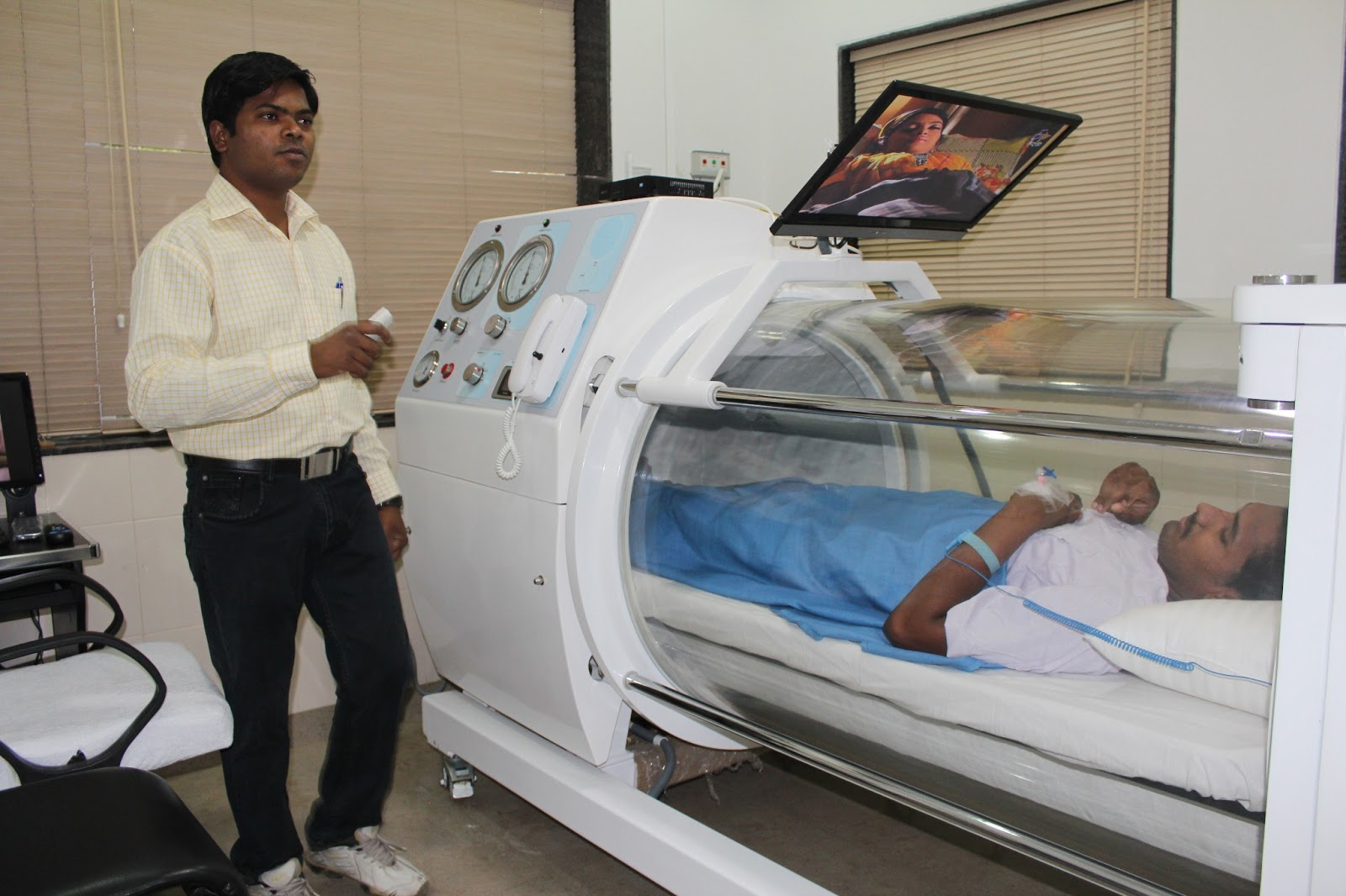 India hyperbaric oxygen therapy chamber hbot bird for Table 6 hyperbaric treatment