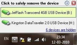 USB safely menu 2