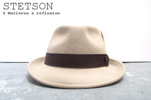 Stetson chapeau feutre beige Stetson homme chapeau Elkader