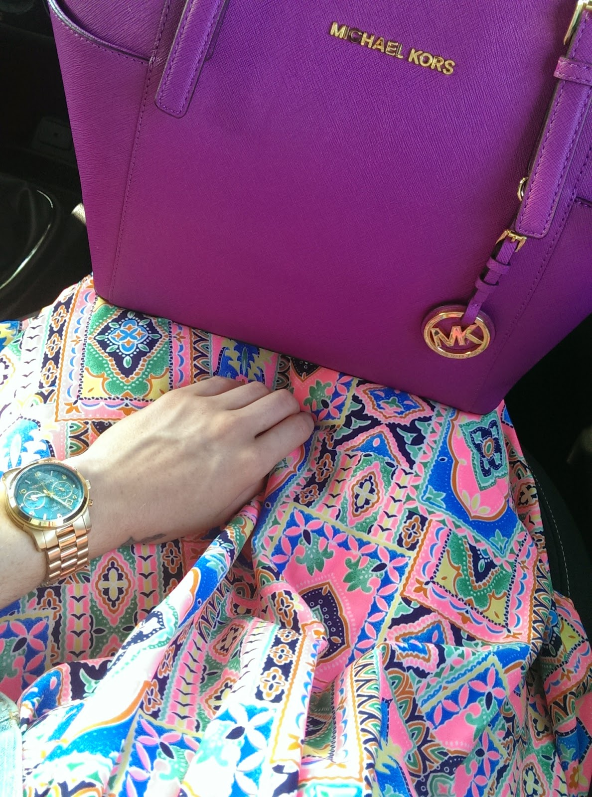 Primark playsuit michael kors handbag and michael kors watch