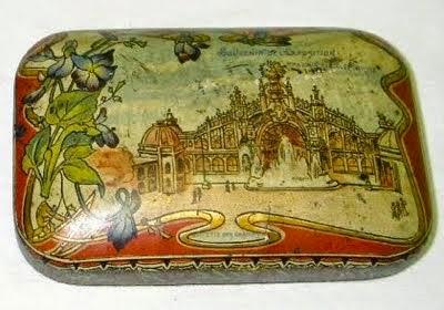 Boîte à savon de Victor Vaissier Art déco n° 271