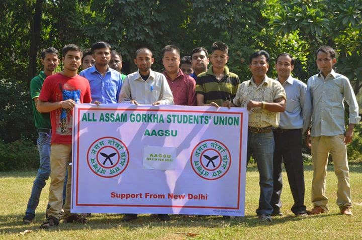 Ramailo Bhet Ghat With All Manipur Gorkha Student Union Ncr Team