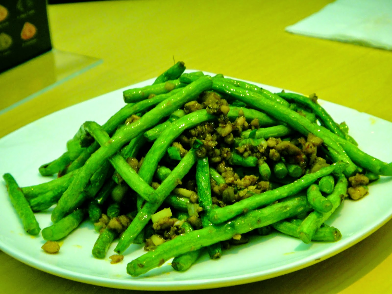 Minced Meat Green Bean Paradise Dynasty Central Park
