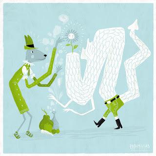 Ventanita de ilustradores - Pablo Elias - hechizo