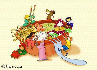Cucine dei diversi paesi nel mondo