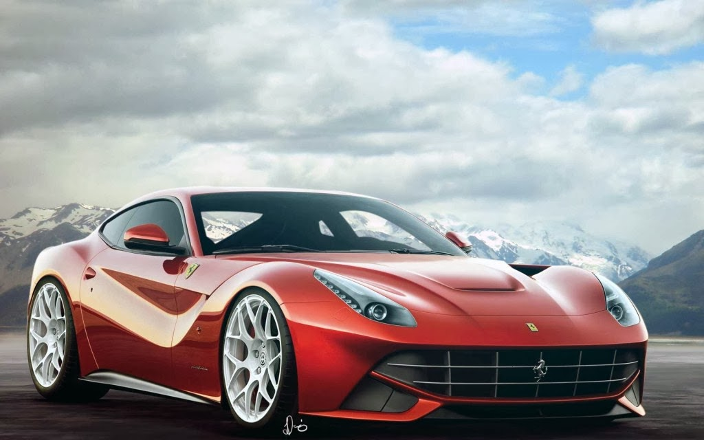 Ferrari F12 Berlinetta Spyder Car Wallpaper