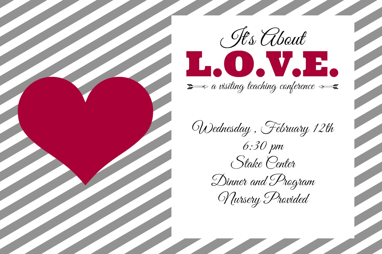 Valentines Day Party Invitation Free Editable Download