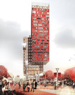 Rosentown - Förslag till Törnrosen tower - MKB Fastighets AB, Malmö